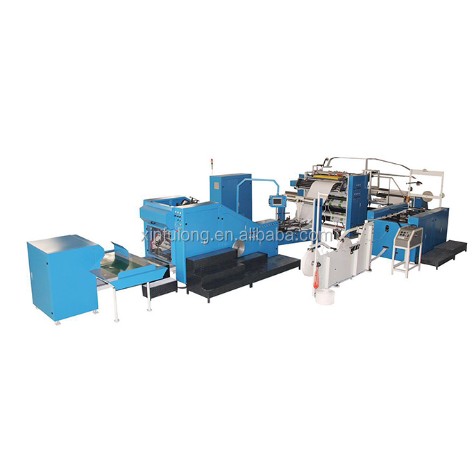 Automatic Paper Shopping Bag Making Machine With Handles Online