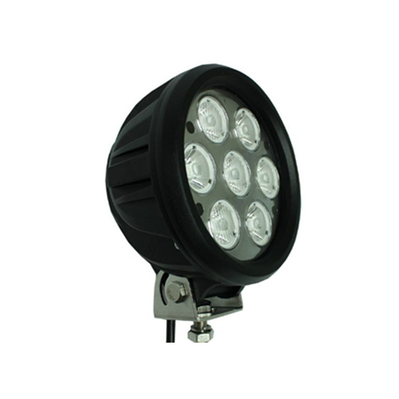 alibaba express high lighting LED work lights new modern offroad car LED work light round 70W