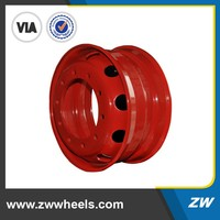 high quality car steel wheels rims for sale 16 17 18 19 20 inch(ZW-5.50F-16)