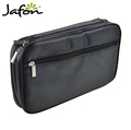Large capacity trendy makeup brush pouch nylon / Oxford cloth makeup brush set bag