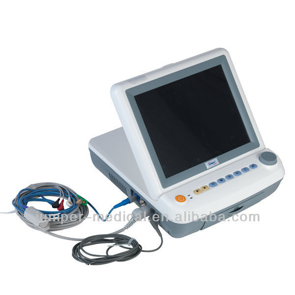 "New 12.1"" portable fetal monitor JPD-300P with fetal stimulator fuction"