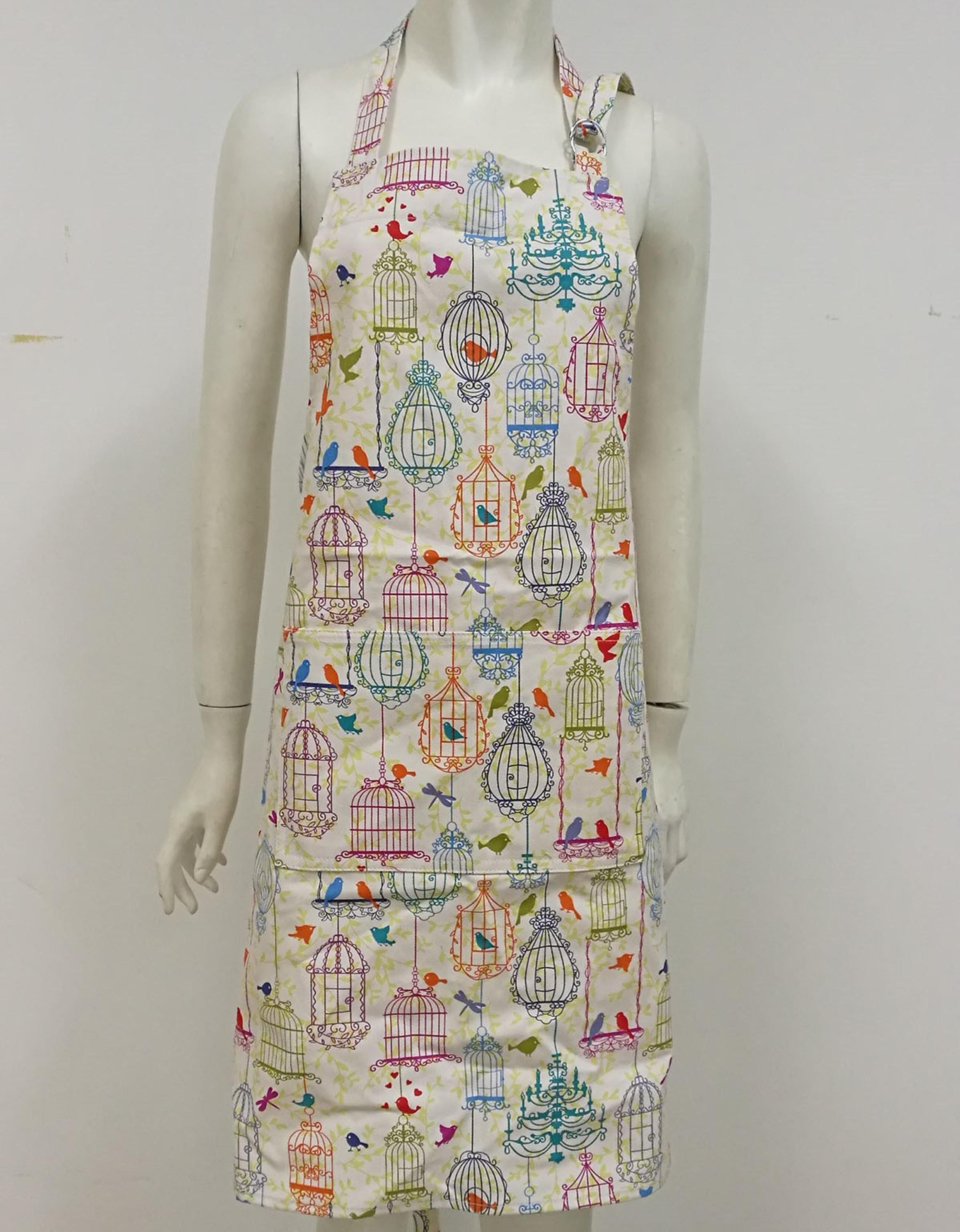 KY02001 cotton apron with pocket