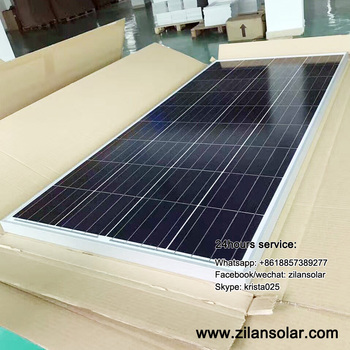 130W polycrystalline solar panel for green house