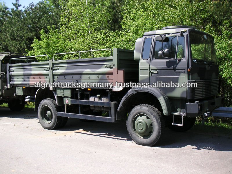 Iveco Magirus 110-17 4x4 Military Army Trucks