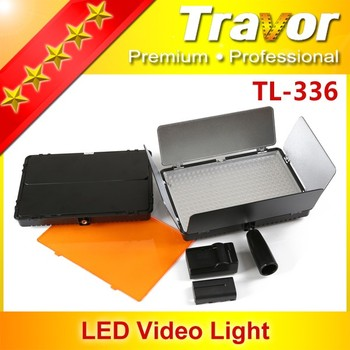 HOT Travor photographic equipment With 336pcs LED video light