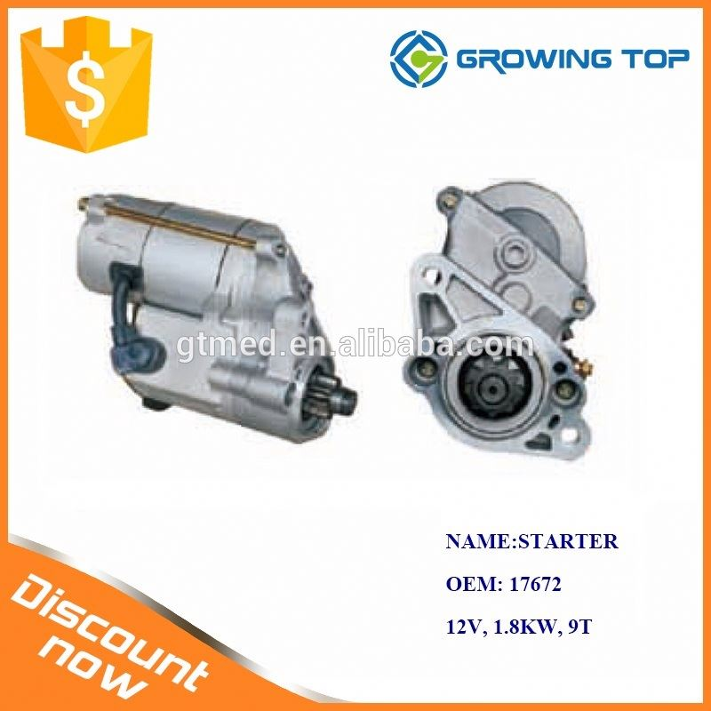 Professional Manufacturer 17672 the Starter Motor for Toyota