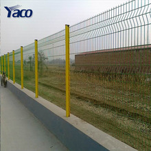 Powder Coated and Steel Metal Type Galvanized and PVC Coated 3D Curved Welded Mesh Panel Fences