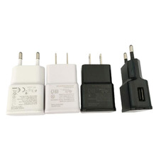 2A ip7 / ip6 / ip6 Mobile Charger, Input AC 100-240v 50-60Hz Portable Single USB Phone Charger