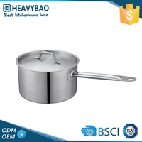Heavybao Satin Polishing Cooking Stainless Steel Cookware Pot Handles