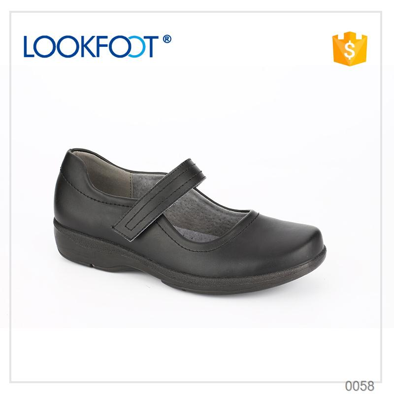 wholesale flexibility women leather shoes brands made in China