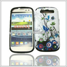 Printed Pattern Brand Name Phone Case For Samsung Galaxy s3