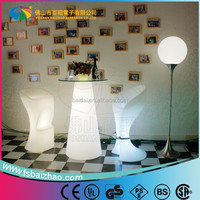 hot sell glow bar table/led bar glass top/illuminated led bar table