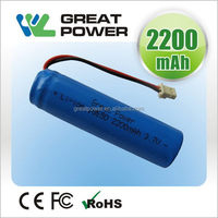 New style antique 3.7v 1500mah lithium battery pack