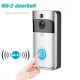 Newest OEM Night Vision 2-Way Audio HD Video Motion Sensor Door Camera Battery Powered Wifi Wireless Video Doorbell