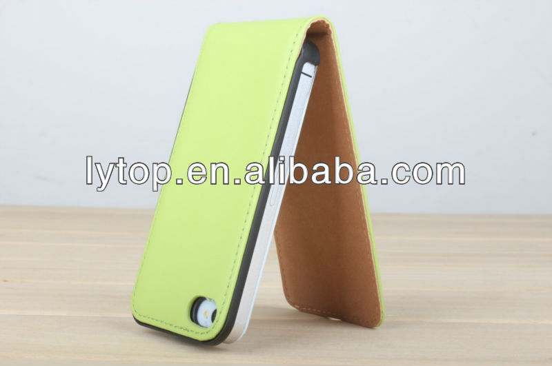 Special PU Leather Wallet Flip Case Cover for iphone 4 4S