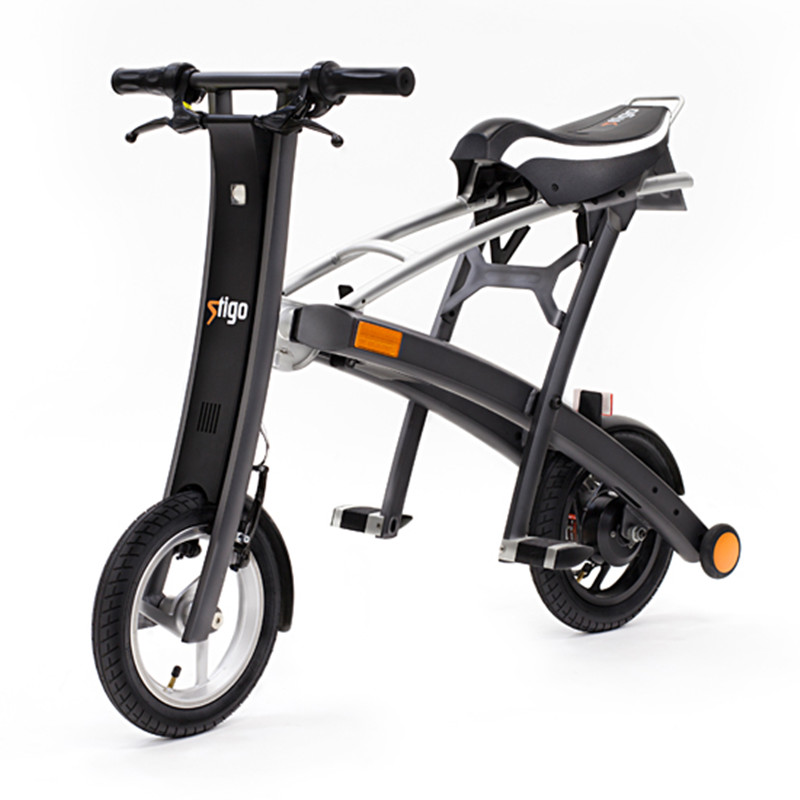 stigo plus folding adult electric bike 40km distance lithium power assited <strong>bicycle</strong>