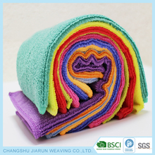 2018 hot selling and the fashion 80% polyester 20% polyamide microfiber turkish towel fabric
