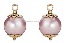 Contemporary top sell free photos flat pearl earring