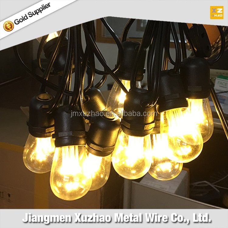 Outdoor Waterproof Commercial Grade String Lights Christmas lights string with E26 E27