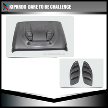 Kipardo new!! 10th anniversary Engine Hood For Jeep Wrangler JK 2007-2016