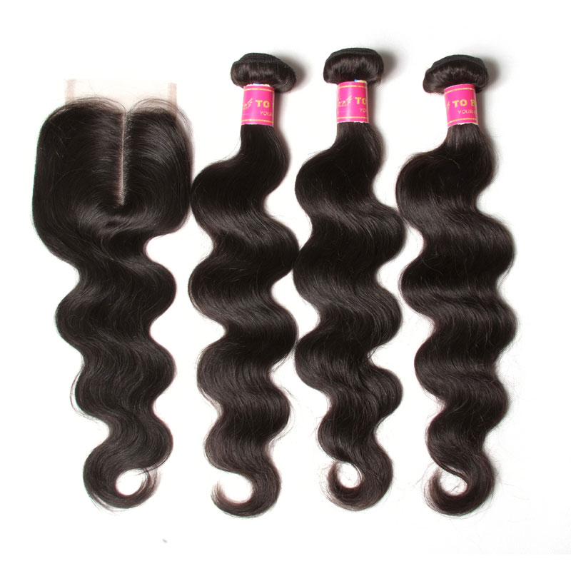 Alibaba China Body Wave Hair Weave <strong>100</strong>% Full Middle Part <strong>Cheap</strong> Virgin Brazilian Human Hair Lace Closure