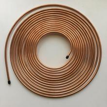 Copper Brazing Double Wall Pipe For Hydraulic brake line tubing