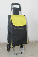 Wholesale and retail factory sell new cheap folding shopping bag with wheels alibaba dot com