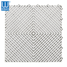 Best selling in 2018 PVC material interlocking floor garage tile