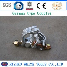 WEIGU brand German type non slip scaffold coupler nut and bolt coupler high quality