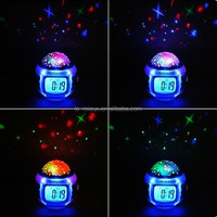 2014 Calendar, Musical Star Sky Projector Clock