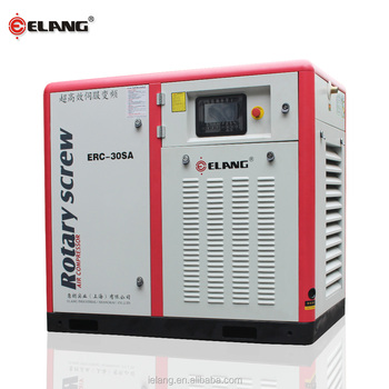 ELANG hot sale screw water cooler air compressor price