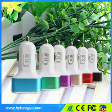 Small size mobile phones 3 in 1 car charger, 2.1a car charger, car usb charger + 3.5mm aux audio cable