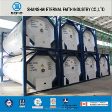 Xangai 2015 continental 40ft t75 tank container para lox lin lar amount_cle lco2 lc2h4 gnl