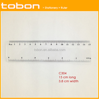2016 new Wide straight ruler 15cm and 6 inch scale printing drawing ruler
