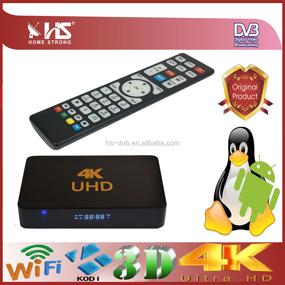 Chile iptv telefonica iptv 61w 4K UHD iptv receiver Set-Top Box