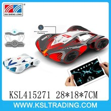 Top sales wifi remote control car with moving camera and real-time video iPhone/ipad Controlled