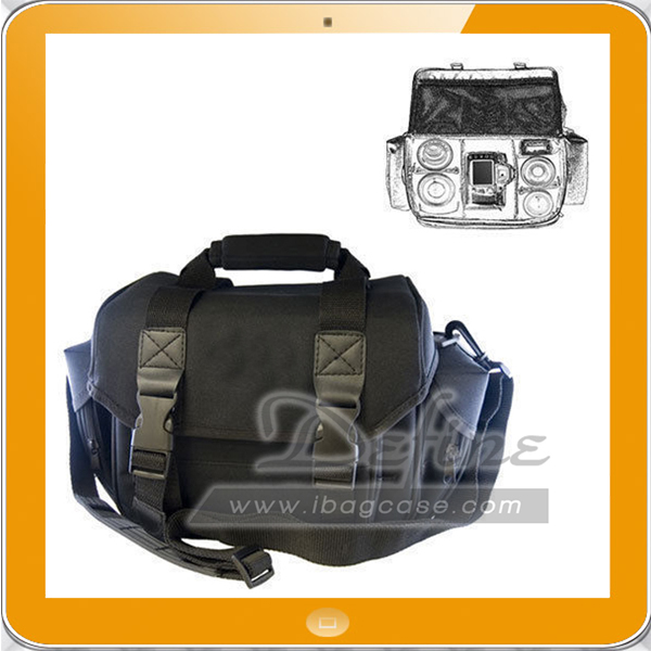 Extra large soft carrying polyester camera bag