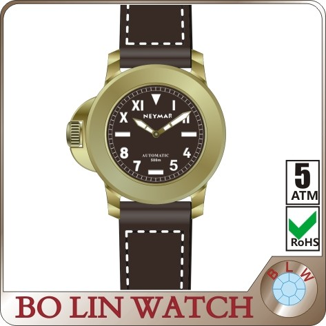 2016 Chinese supplier , factory price , 50 ATM waterproof, popular, antique, bronze diver watch
