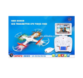 safety design 2.4G 4CH 6 axis gyro rc quadcopter drone with camera