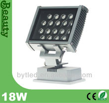 18w led flood light approved CE and ROHS Aluminum lamp
