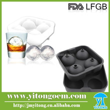 Food grade Silicone Ice sphere mold /set Silicone Ice Ball Mold/ Ice cream mold Bar Tools