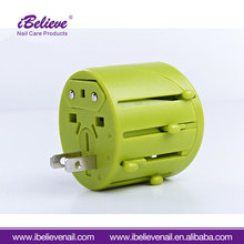 World AC DC Cheap Prices Universal Travel Adapter with 2 USB Charger