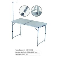 Camping Folding Table Portable Picnic Table Folding Barbecue Table