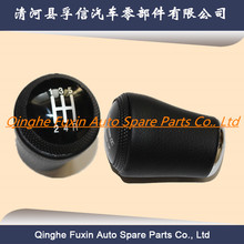 auto car gearbox parts gear shift leather knob 5 Speed genuine for Audi A6 C5 A4 B5 A8 D2 (95-03)