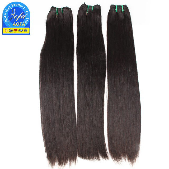 Best seller 100% virgin brazilian hair weave color 4 chinese straight hair products for woman