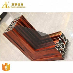 LIKE! Aluminum residential windows, aluminum sliding window, manufacture make wood clad aluminum window