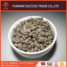 New coming first choice raw coffee beans market price