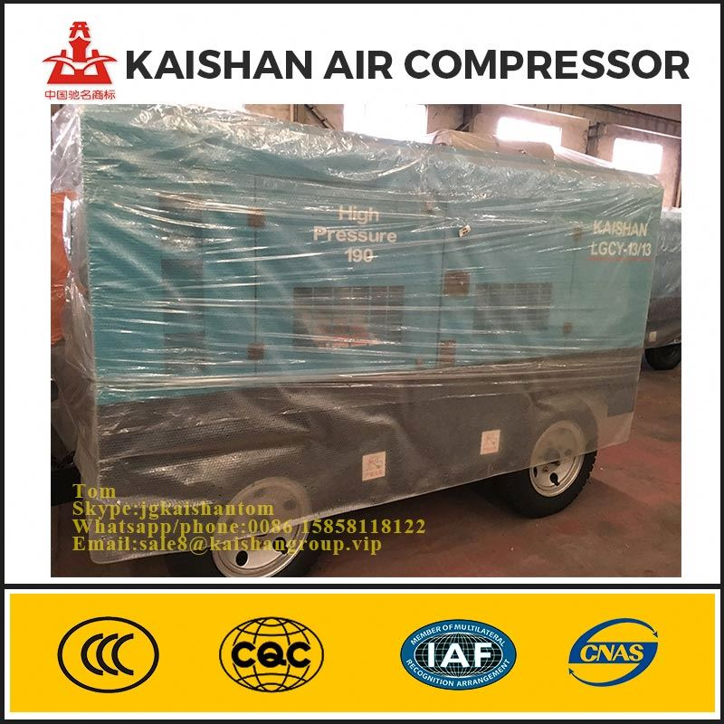 Diesel Mobile Rotary Screw Air Compressor,High Pressure Portable Diesel Screw Air Compressor