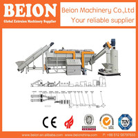 BEION PP PE FILM RECYCLING LINE/PE PLASTIC FILM WASHING LINE/PE PP WASTE PLASTIC RECYCLING LINE