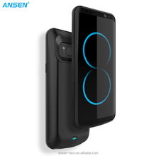 Newest phone charger 5000mah mobile phone power battery case for Samsung S8 S8 plus 5500mAh in stock